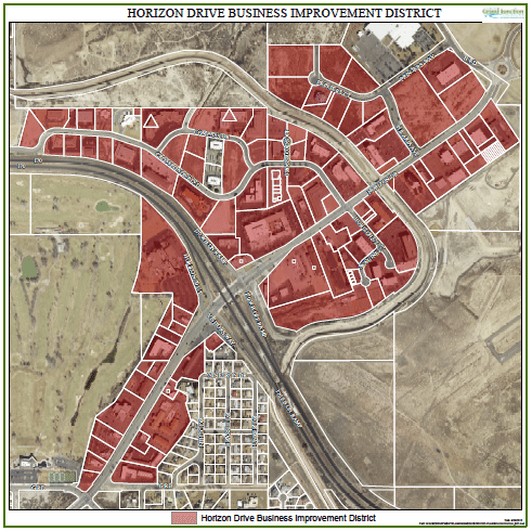 Horizon Drive District Map